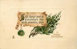 A HAPPY CHRISTMAS  white heather