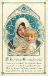 A JOYFUL CHRISTMAS  Madonna & child