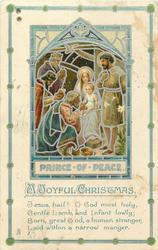 PRINCE OF PEACE,  Baby Jesus, Madonna, wise men & king