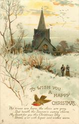TO WISH YOU A HAPPY CHRISTMAS