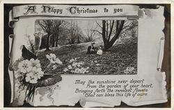 A HAPPY CHRISTMAS TO YOU  primroses