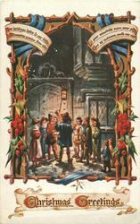 CHRISTMAS GREETINGS  carolers
