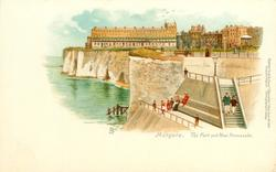 THE FORT AND NEW PROMENADE