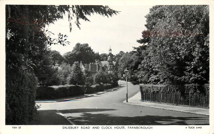 SALISBURY ROAD AND CLOCK HOUSE
