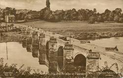 THE OLD BRIDGE AT FARNDON