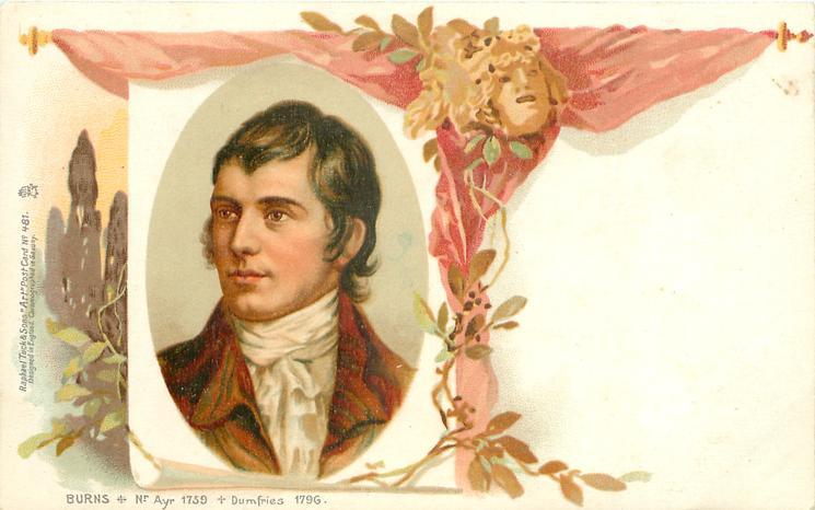 BURNS   NR AYR 1759   DUMFRIES 1796