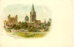 CHRIST CHURCH CATHEDRAL, OXFORD