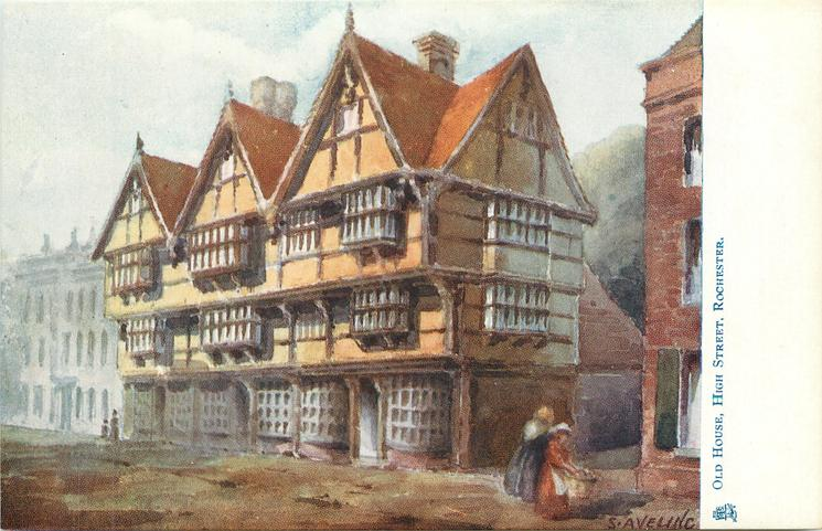 OLD HOUSE, HIGH STREET, ROCHESTER