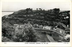 LOWER FISHGUARD LOOKING TO THE SEA