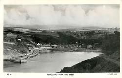 FISHGUARD FROM THE WEST