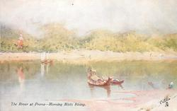 THE RIVER AT PROME - MORNING MISTS RISING