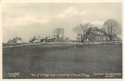 TOP OF VILLAGE AND UNITARIAN CHAPEL