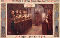 A HAPPY CHRISTMAS TO YOU  choir of monks
