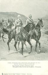 EARL ROBERTS AND VISCOUNT KITCHENER ON THE SOUTH AFRICAN BATTLEFIELDS