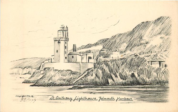 ST. ANTHONY LIGHTHOUSE, FALMOUTH HARBOUR