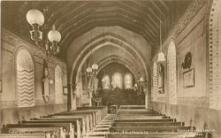 ST. PETER'S CHURCH (INTERIOR)