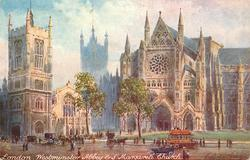 WESTMINSTER ABBEY & ST. MARGARET'S CHURCH