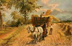 CARTING THE SHEAVES