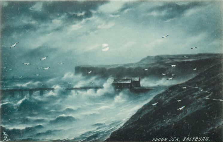 ROUGH SEA, SALTBURN