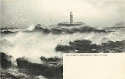 THE GODREVY LIGHTHOUSE, NEAR ST. IVES