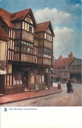 OLD HOUSES, SHREWSBURY