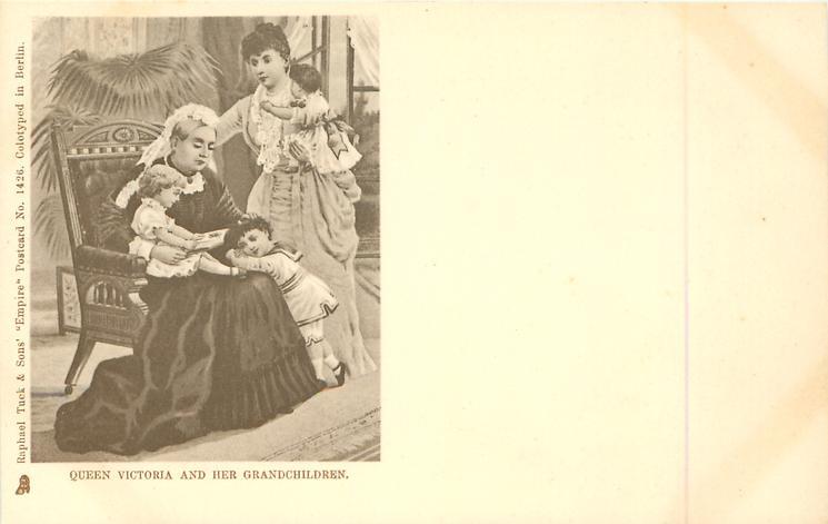 QUEEN VICTORIA AND HER GRANDCHILDREN