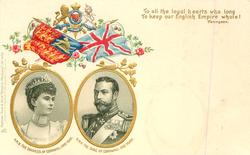H.R.H. THE DUKE AND DUCHESS OF CORNWALL AND YORK,