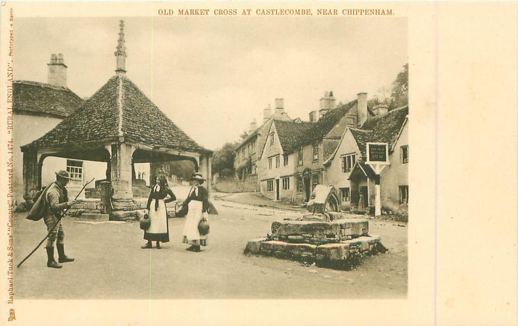 OLD MARKET CROSS AT CASTLECOMBE, NEAR CHIPPENHAM