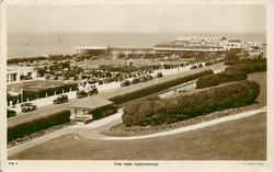THE PIER from hill in park