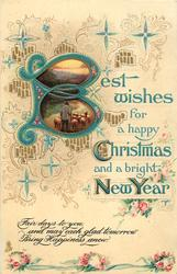 BEST WISHES FOR A HAPPY CHRISTMAS AND A BRIGHT NEW YEAR
