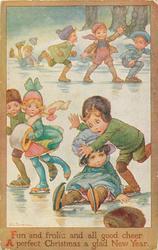 children skate