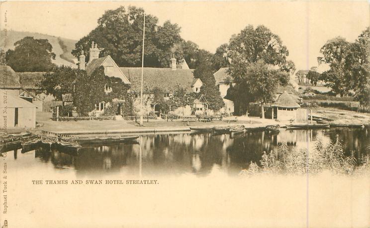 THE THAMES & SWAN HOTEL, STREATLEY