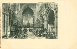 CHESTER CATHEDRAL CHOIR
