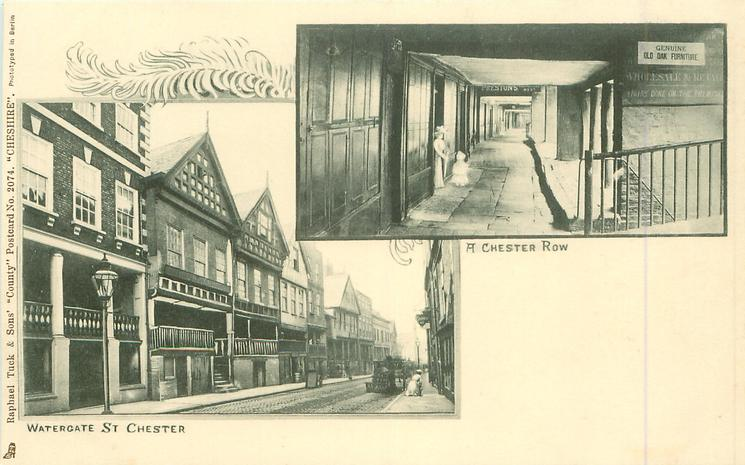 2 insets WATERGATE ST. CHESTER/A CHESTER ROW