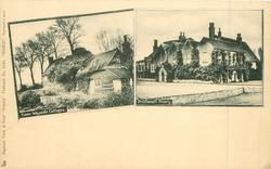 2 insets ESSEX WAYSIDE COTTAGES//PRITTLEWELL PRIORY