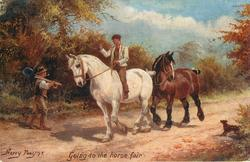 GOING TO THE HORSE FAIR