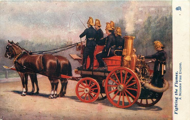A MODERN FIRE ENGINE