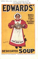 EDWARDS' MAKES TASTY STEWS AND DELICIOUS HASHES
