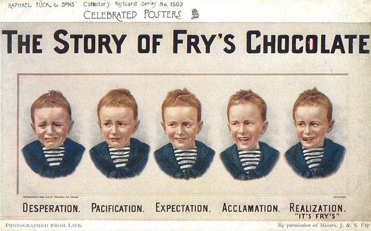 The Story Of Frys Chocolate Or Frys Milk Chocolate Five