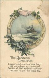 THE SEASON'S GREETINGS  battleship