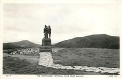THE COMMANDO MEMORIAL NEAR FORT WILLIAM