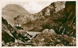 SUSPENSION BRIDGE AT HEAD OF GLEN NEVIS