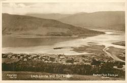 LOCH INNHE AND FORT WILLIAM