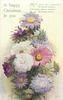 A HAPPY CHRISTMAS TO YOU  chrysanthemums & asters