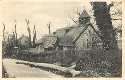 THE THATCHED CHURCH OF ST. AGNES