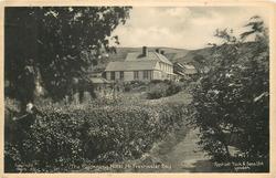 THE BLACKGANG HOTEL, NR. FRESHWATER BAY