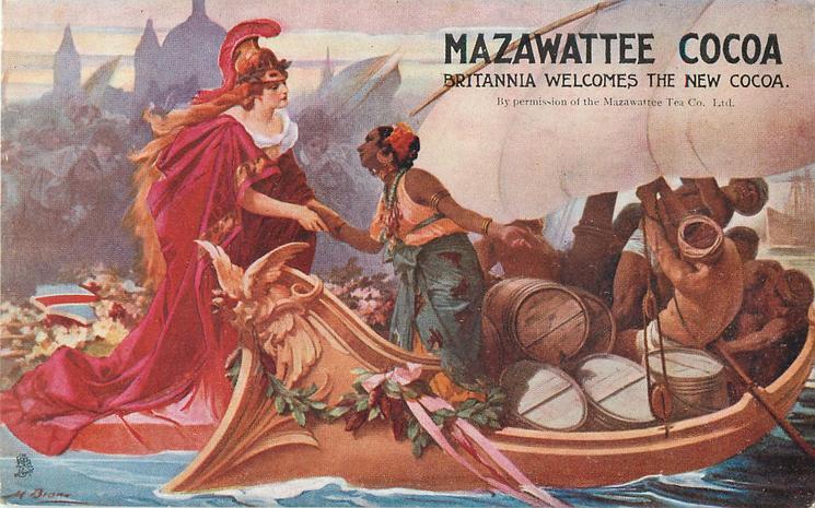 MAZAWATTEE COCOA, BRITANNIA WELCOMES THE NEW COCOA