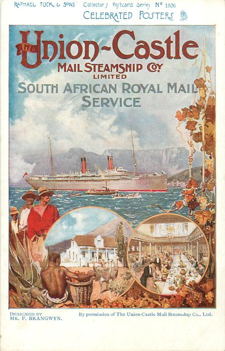 UNION-CASTLE MAIL STEAMSHIP COY, LIMITED, SOUTH AFRICAN ROYAL MAIL SERVICE