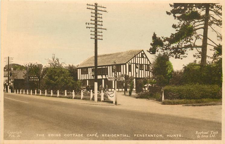 THE SWISS COTTAGE CAFE, RESIDENTIAL, distant