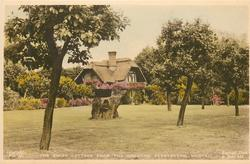 THE SWISS COTTAGE FROM THE GROUNDS
